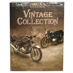 Clymer Vintage Collection Series Four-Stroke Motorcycles