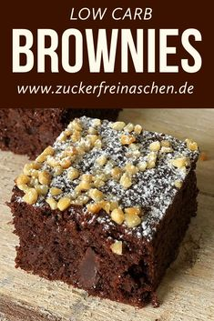 Zuckerfrei backen-Backen ohne Zucker This recipe is proof that low-carb baking is very easy and reliable to implement. I have many sugar-free recipes that I bake more often and this is definitely one Healthy Dessert Recipes, Low Carb Desserts, Easy Desserts, Low Carb Recipes, Cake Recipes, Dessert Simple, Brownie Low Carb, Low Carb Backen, Menu Dieta
