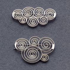 Brooches   Sabine Ziegler. Sterling Silver