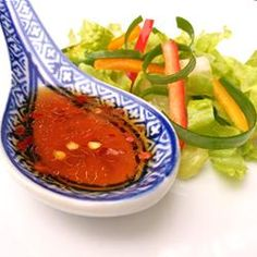 "Korean Style Salad Dressing | ""Yummy! Delicious over spinach salad."" http://allrecipes.com/Recipe/Korean-Style-Salad-Dressing/Detail.aspx"