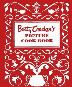 Betty Crocker Cookbook circa 1950