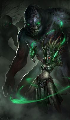 D3 Witch Doctor by daemonstar.deviantart.com on @DeviantArt