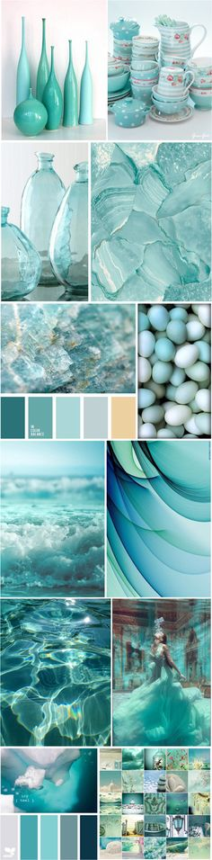 [What a beautiful world we live in. one of my Favs! Living Room Color Schemes, Living Room Colors, Colour Schemes, Aqua, Bleu Turquoise, Mood Colors, Color Collage, Color Naranja, World Of Color