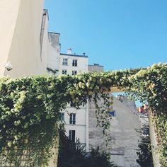 Jardin Anne-Frank // Le Marais