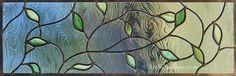 Kerr Spring Leaves, Art Windows Custom Stained Glass