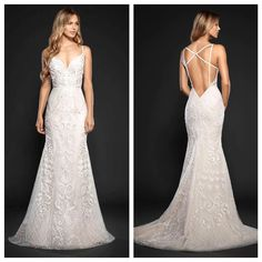 Maverick by Hayley Paige has arrived and she is everything!! #schaffers #sayyestothedress #weddinggown #hayleypaige #bride #ido http://gelinshop.com/ipost/1517695823369039348/?code=BUP8E9tAW30
