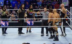 Roman & The Usos vs. AJ, Gallows & Anderson – Six-Man Tag Team Match