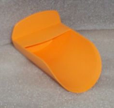 Tupperware Round FLOUR ROCKER SCOOP gadget ORANGE NEW by Tupperware. $2.99. Good for floor and dry goods. Round Scoop. Tupperware Round FLOUR ROCKER SCOOP gadget ORANGE.