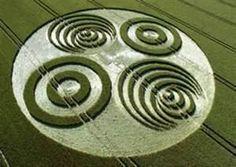 alien visit proof? crop circles