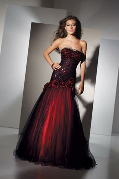 Gorgeous red gown from Black Label by Alyce Paris