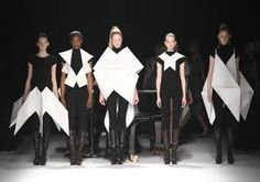 Issey Miyake's origami collection