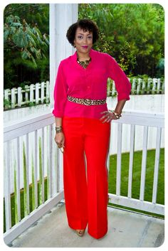 Inspired by Pinterest | Pink & Red! | Erica B.'s - D.I.Y. Style!