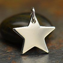 Sterling Silver Star Charm, -.925 sterling silver, silver dangle charms, charm charms, thai charms, necklace charms, - by Paradisebeads4u on Etsy https://www.etsy.com/listing/222785816/sterling-silver-star-charm-925-sterling