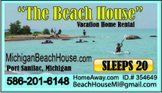 Having a Family Reunion or a large party? #Rent our #BeachHouse @HomeAway!  #Eastern #Michigan #Vacation #Rental * SLEEPS 25 * http://www.homeaway.com/vacation-rental/p3543649 #PortSanilac #Michigan