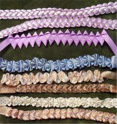 olderrose: More Ribbon Folding