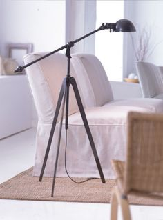 Visual Comfort - Our Collections EF Chapman Thomas O'Brien Barbara Barry Alexa Hampton Suzanne Kasler Visual Comfort Lighting, Vintage Office, Black Floor, Automotive Decor, Exterior Paint Colors, Armless Chair, Chair Bench, Tripod Lamp, Pool Houses