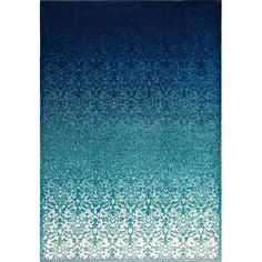 Found it at Wayfair - Crandall Turquoise Area Rug