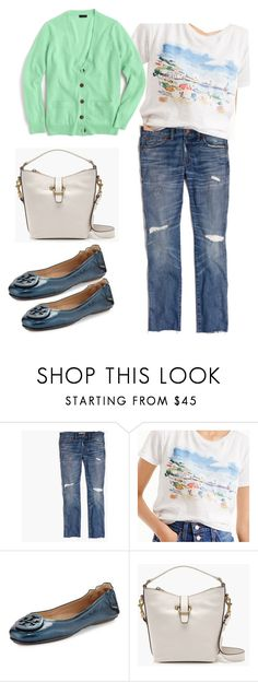 """""""Untitled #441"""" by llsdenver on Polyvore featuring Madewell, J.Crew and Tory Burch"""