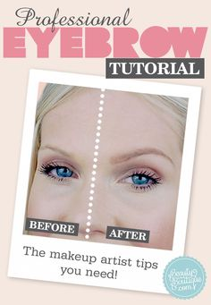 HOW TO GET A MORE LIFTED BROW!  #makeupartisttips #beautytips #brows