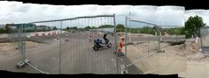 A new bridge build over river the IJssel near Gouderak & Ouderkerk a/d IJssel , Gouderak ,  The Netherlands