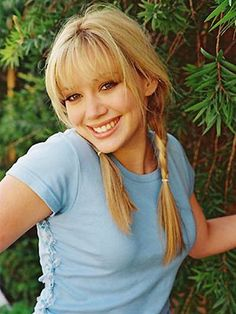 Hilary Duff. Still love her, even today. :)