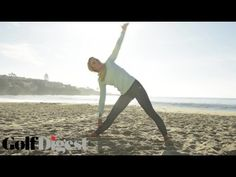 Back Exercises for Golfers with Natalie Gulbis | Golf Digest - YouTube