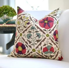 pillow.  ....I like this pillow all the colours easy way to help pull together a room... Love it....