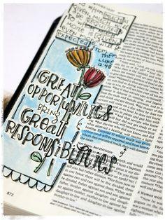 Bible journaling   Stephanie Ackerman