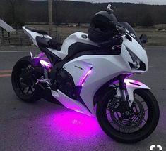White Honda CBR under fire - # white .- White Honda CBR under ember – # white - Honda Cbr 1000rr, Honda S2000, Honda Ruckus, Futuristic Motorcycle, Motorcycle Bike, Motorbike Girl, Women Motorcycle, Moto Bike, Purple Motorcycle