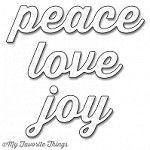 My Favorite Things - Die-namics - Peace, Love, Joy
