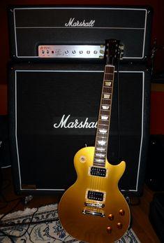 LE Combo qui fait résonner les murs de mon appartement ! Gibson Les Paul Slash et Amplis AFD100... Ca envoie du paté !