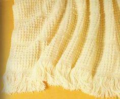 Free Crochet Cobblestone Afghan Pattern