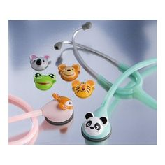 How adorable would this be for a pediatric stethoscope??! Keeping this in mind... :)