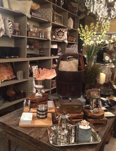 April 2015, playing with new arrivals from Market....sooo fun! Check us out at www.robynstorydesigns.com Hunts, Natural Living, Showroom, Coffee Shop, Table Settings, Display, Boutique, Creative, Check