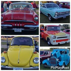 #SweetRides with the #BarrieThunderClassics at #HeritagePark @downtownbarrie #visitbarrie #cruisin #getoutandplay #ClassicCars #antiquecars #perfectnight #vroomvroom #CarCollectors