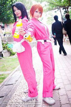 Moko-chan and Kyoko-chan! Skip Beat cosplay maybe with @Foxesarecute777