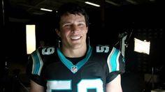 NBC Sunday Night Football 2014 Promo: Luke Kuechly Behind the Scenes Int...