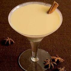 ... (or whiskey), 1 oz homemade pumpkin syrup, 1 oz irish cream liqueur