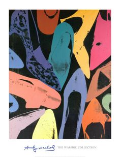 Warhol Shoes Poster