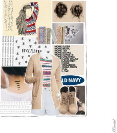 """""""Style That Sweater with Old Navy by Isadora Candal."""" by isadora-candal ❤ liked on Polyvore"""