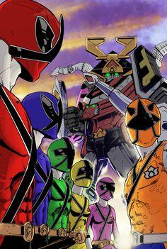 Power Rangers Samurai by diabolicol on DeviantArt Power Rangers Samurai, Power Rangers Comic, Power Rangers Ninja Storm, Power Rangers In Space, Power Rangers Toys, Go Go Power Rangers, Mighty Morphin Power Rangers, Desenho Do Power Rangers, Powe Rangers