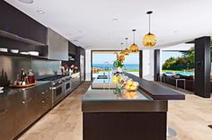 Who says galley kitchens are only for the apartment-bound?