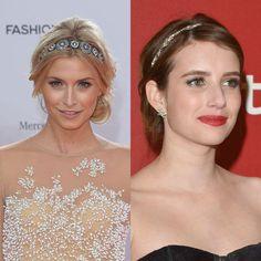 Braut haarband frisur  Eindrehfrisur mit Haarband und Zopf | Frisur | Pinterest | Zopf ...