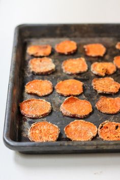 Parmesan Garlic Baked Sweet Potato Chips Recipe on Yummly. @yummly #recipe