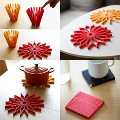 10 Beautiful Trivets to Protect Your Table Functional Kitchen, Cool Kitchen Gadgets, Kitchenware, Kitchen Products, Table Decorations, Simple, Beautiful, Kitchen Gadgets, Kitchen Utensils