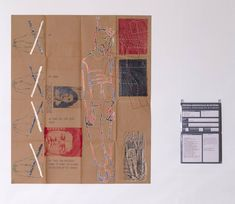 Eugenio Dittborn, 'To Hang Airmail Painting No.5' 1984