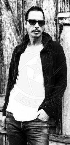 Chris Cornell in BW 2016