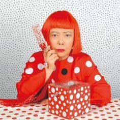 Polka-Dot Mistress Yayoi Kusama on Damien Hirst's Spots