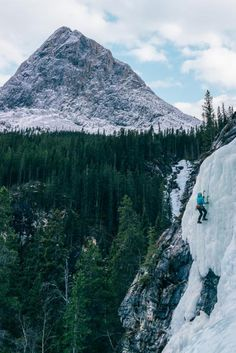 """The ice climbing is what impressed me the most, though. It was the first time I had ever ice-climbed, so I had no idea what to expect. I am a pretty avid rock climber so I didn't think it could be that much different, but I was very wrong""."