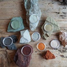 Painting Lessons, Art Lessons, Homemade Watercolors, Earth Pigments, Nature Color Palette, Handmade Paint, Organic Art, Nature Paintings, Blog Design